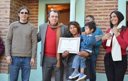 Nuevas viviendas sociales en la localidad Tramo 20 (Dpto Banda)