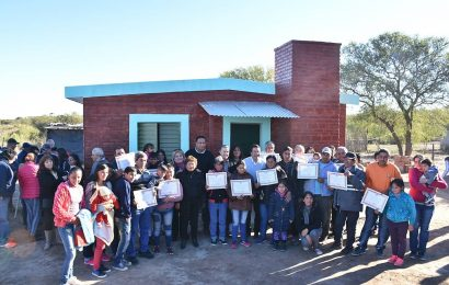 El gobierno de la provincia dejo habilitadas 42 nuevas viviendas sociales en la ciudad de Clodomira
