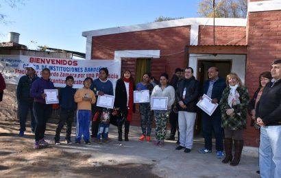 En la ciudad de La Banda se dejaron habilitadas nuevas viviendas sociales