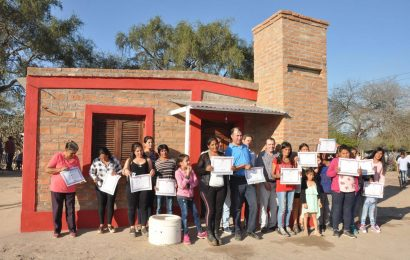 Trece familias del departamento Loreto fueron beneficiadas con una nueva inauguración de Viviendas Sociales