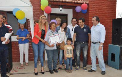 En Villa La Punta, dpto Choya, se dejaron habilitadas 28 viviendas sociales