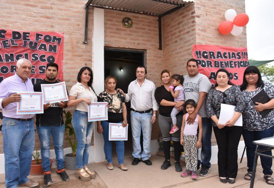 Nuevas viviendas sociales en Bº General Paz, ciudad Capital
