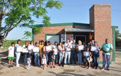 Nuevas viviendas sociales quedaron inauguradas en la ciudad de La Banda
