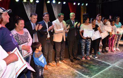 Viviendas Sociales inauguradas en Dpto Robles