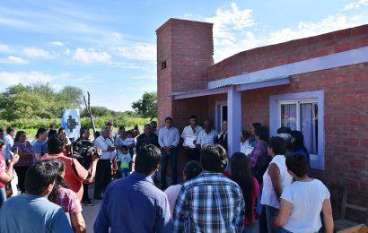 Diez viviendas sociales en la localidad de Paso Grande, depto Avellaneda