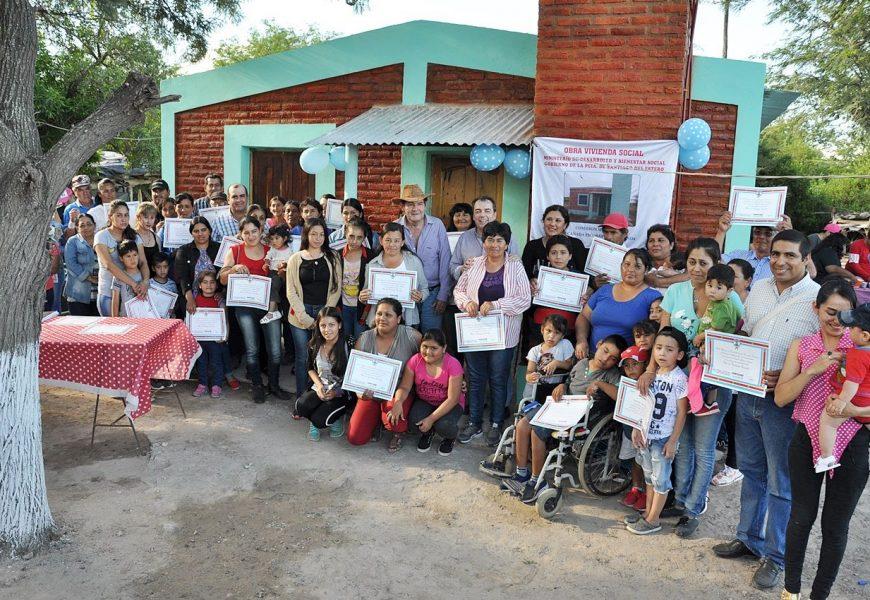 45 Viviendas Sociales nuevas en Dpto Banda