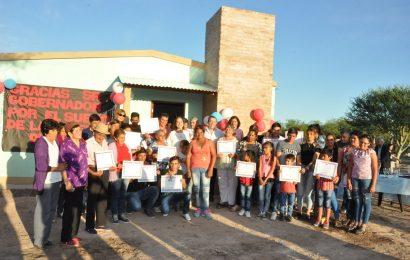Entrega de 17 Viviendas Sociales en Dpto. Figueroa