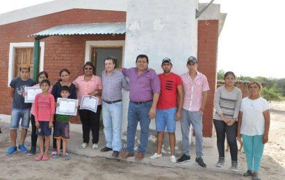 Viviendas Sociales habilitadas en dpto Atamisqui
