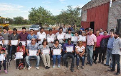 Inauguración de 26 viviendas sociales en Departamento Salavina