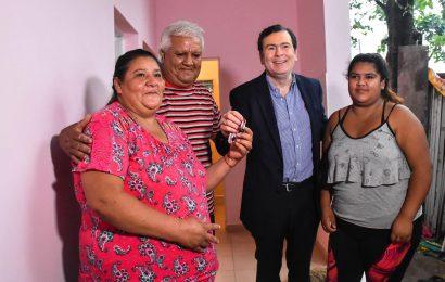 54 viviendas habilitadas para familias en situación de vulnerabilidad