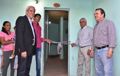 42 viviendas sociales inauguradas en Laprida, dpto Choya