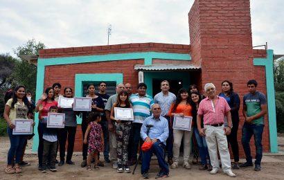 Inauguración de Viviendas Sociales en Dpto Banda