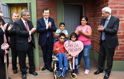 Nuevas viviendas sociales en Dpto Alberdi