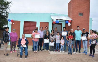 Viviendas Sociales inauguradas en Dpto Banda