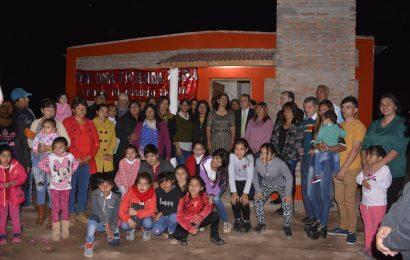 Inauguración de 59 viviendas sociales en Dpto Figueroa