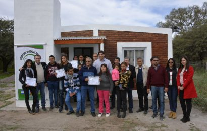 Inauguración de Viviendas Sociales en Dpto. Quebrachos