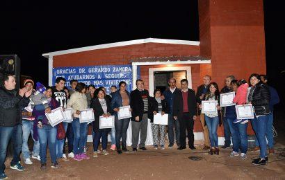 18 nuevas viviendas sociales en Dpto. Salavina