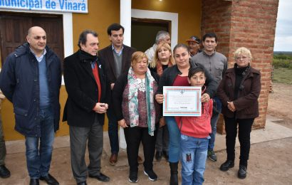 Entrega de 19 Viviendas Sociales en Dpto. Río Hondo