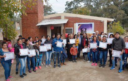 29 Viviendas sociales habilitadas en Dpto. Banda y Dpto Capital