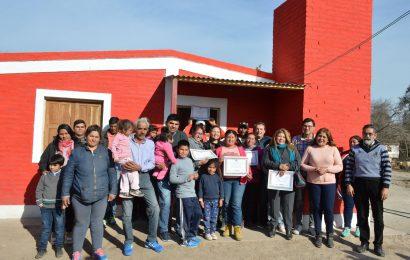 Viviendas Sociales habilitadas en Dpto. Banda