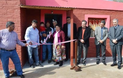 27 Viviendas Sociales inauguradas en Dpto. Banda