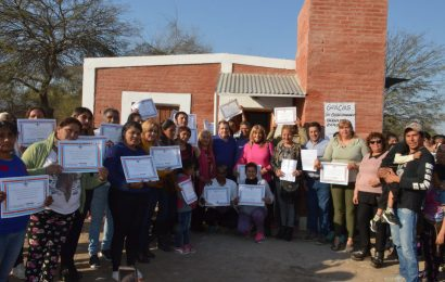 31 familias del Dpto. Banda accedieron a Viviendas Sociales