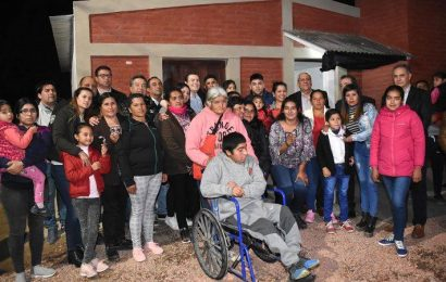12 Viviendas Sociales habilitadas en Dpto. Banda