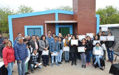 30 Viviendas Sociales habilitadas en Dpto. Figueroa