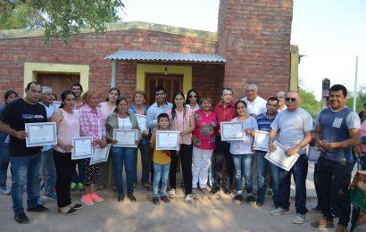 Entrega de 37 Viviendas Sociales en Dpto. Figueroa