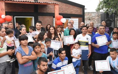 14 Viviendas Sociales habilitadas en Dpto. Capital