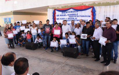 Entrega de 40 nuevas Viviendas Sociales en Dpto. Alberdi