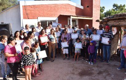 Entrega de 30 nuevas Viviendas Sociales en Dpto. Moreno