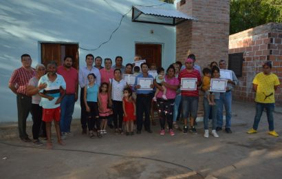 19 Viviendas Sociales habilitadas en Dpto. Río Hondo
