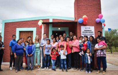 Inauguración de 15 Viviendas Sociales en Dpto. Silípica