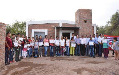 14 Viviendas Sociales nuevas en Dpto. Pellegrini
