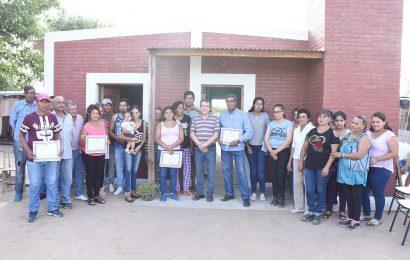 Nuevas Viviendas Sociales habilitadas en Dpto. Choya