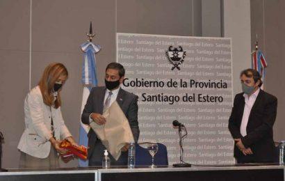 Firman convenio para implementar el programa AccionAR en Santiago del Estero