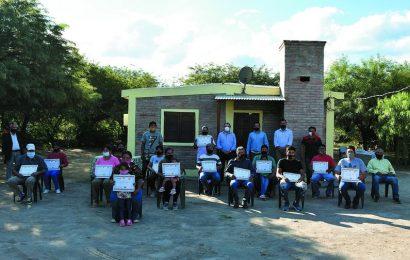 Inauguración de 16 viviendas sociales en Dpto. Banda