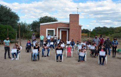 17 Nuevas viviendas sociales en Dpto. Banda