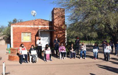 Inauguración de 30 viviendas sociales en Dpto. Juan Felipe Ibarra