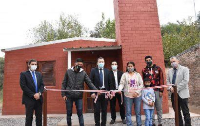 Inauguración de 20 viviendas sociales en Dpto. Silípica