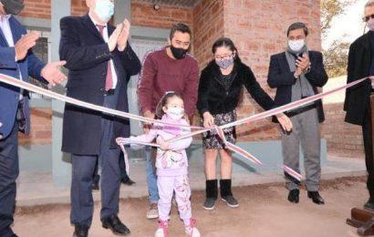 Entrega de 20 viviendas sociales en Dpto. Alberdi